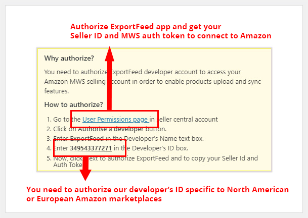 Name a Title for a profile and select your Marketplace from dropdown