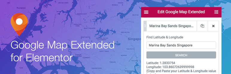 Extended Google Map For Elementor Wordpress Plugin Wordpress