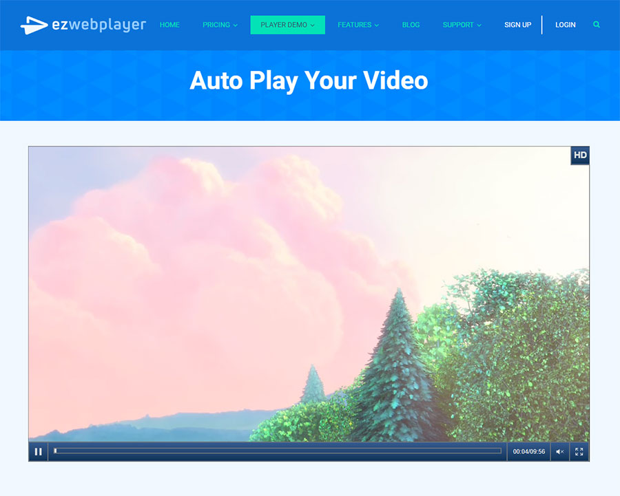 ezwebplayer-wordpress-pro-video-plugin screenshot 1