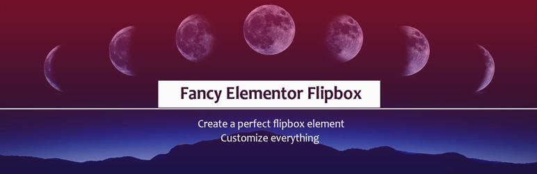 Fancy Elementor Flipbox Elementor Addons