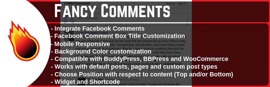 Fancy Facebook Comments WordPress