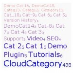fast-category-cloud-wordpress-plugin screenshot 2