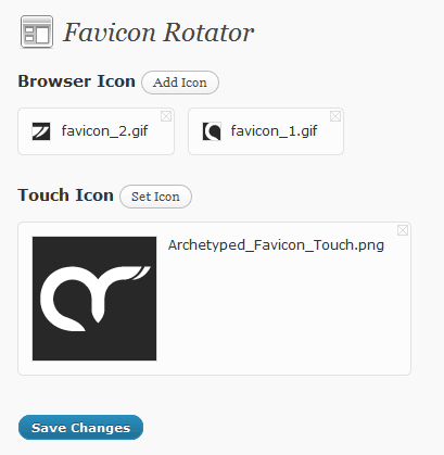 Favicon Rotator Screenshot