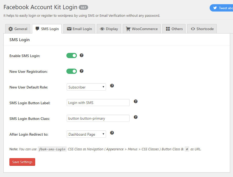 Passwordless Login with OTP / SMS & Email – Facebook Account Kit