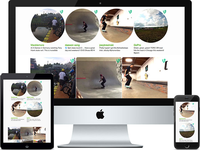 Vine Feed. Show as many vine videos as you want. Demo