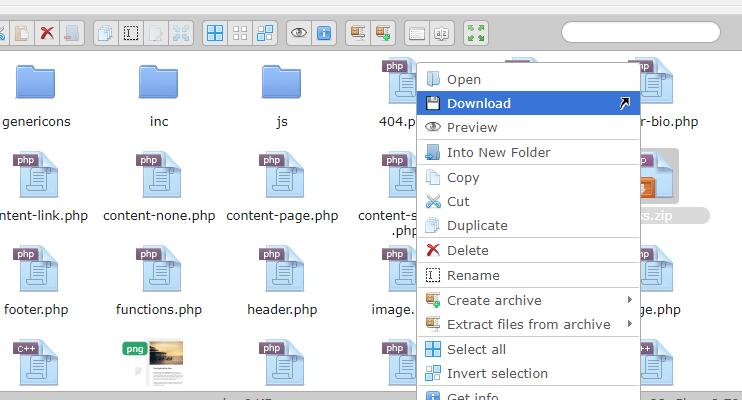 Advanced File Manager – WordPress plugin | WordPress org