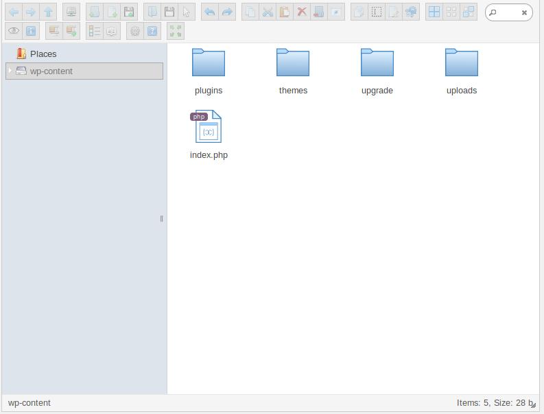 管理画面からサーバー内のファイル操作ができるプラグイン「File Manager」の画像|Knowledge Base