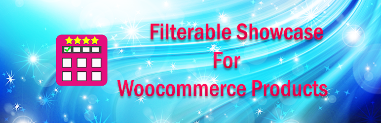 Filterable Showcase For Woocommerce Products