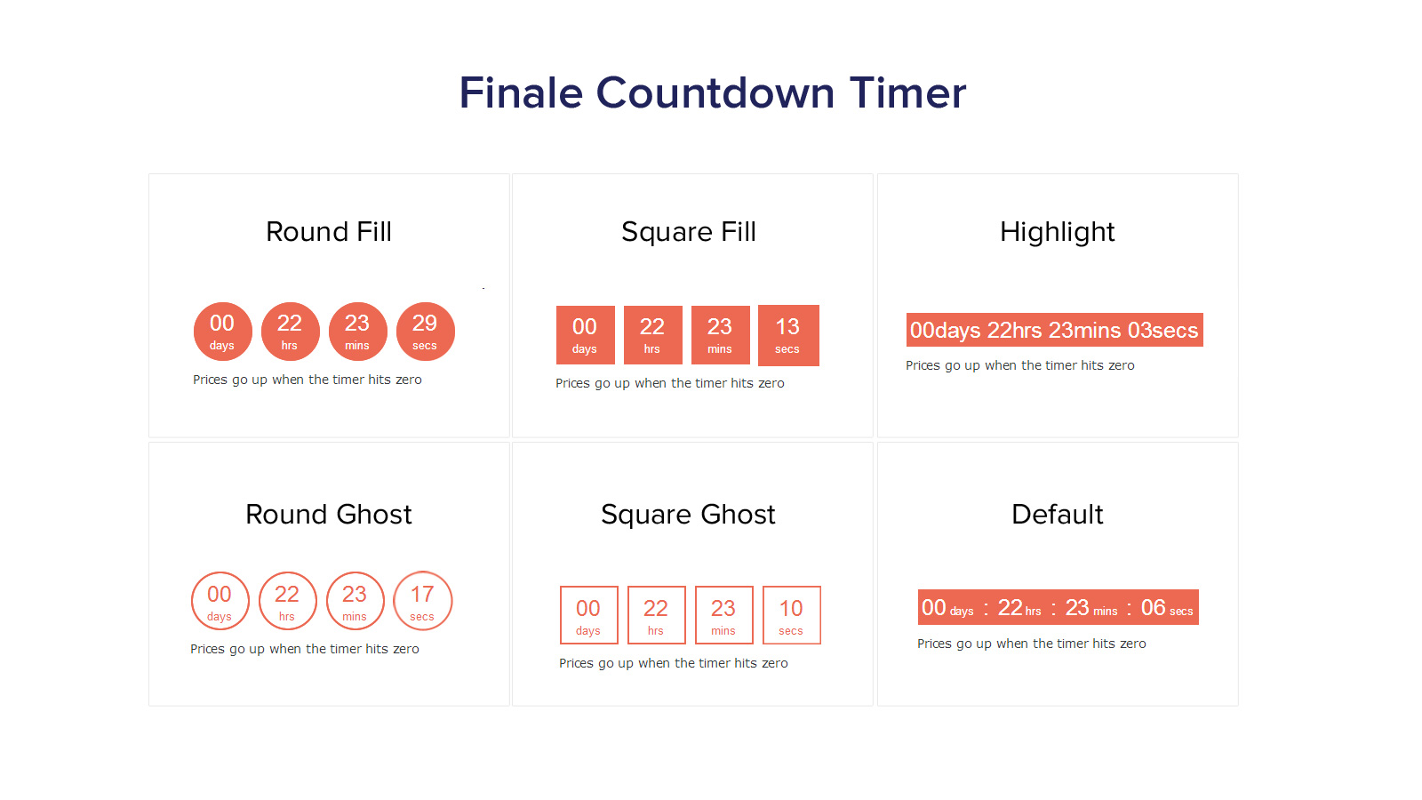 Finale Lite – Sales Countdown Timer & Discount for