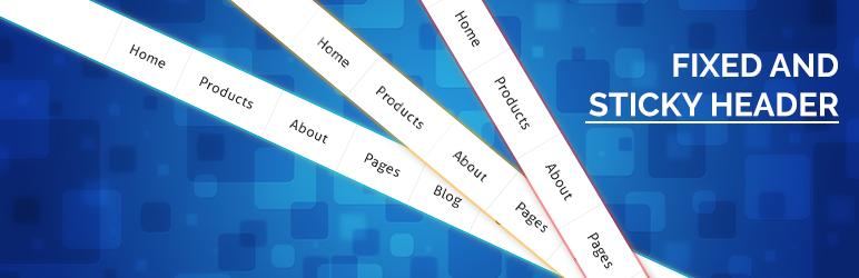 Fixed And Sticky Header إضافة ووردبريس Wordpress Org العربية
