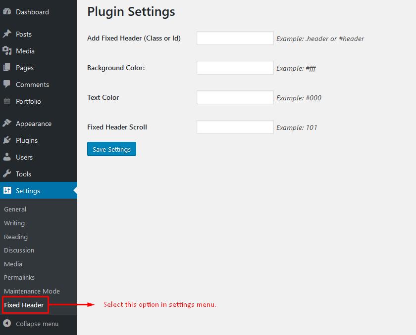 Fixed And Sticky Header Wordpress Plugin Wordpress Org