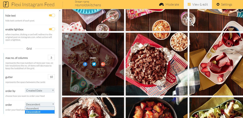 Flexi Instagram Feed – Instagram Gallery Widget