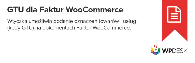 GTU dla Faktur WooCommerce