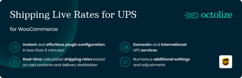 WooCommerce UPS Shipping – Live Rates and Access Points
