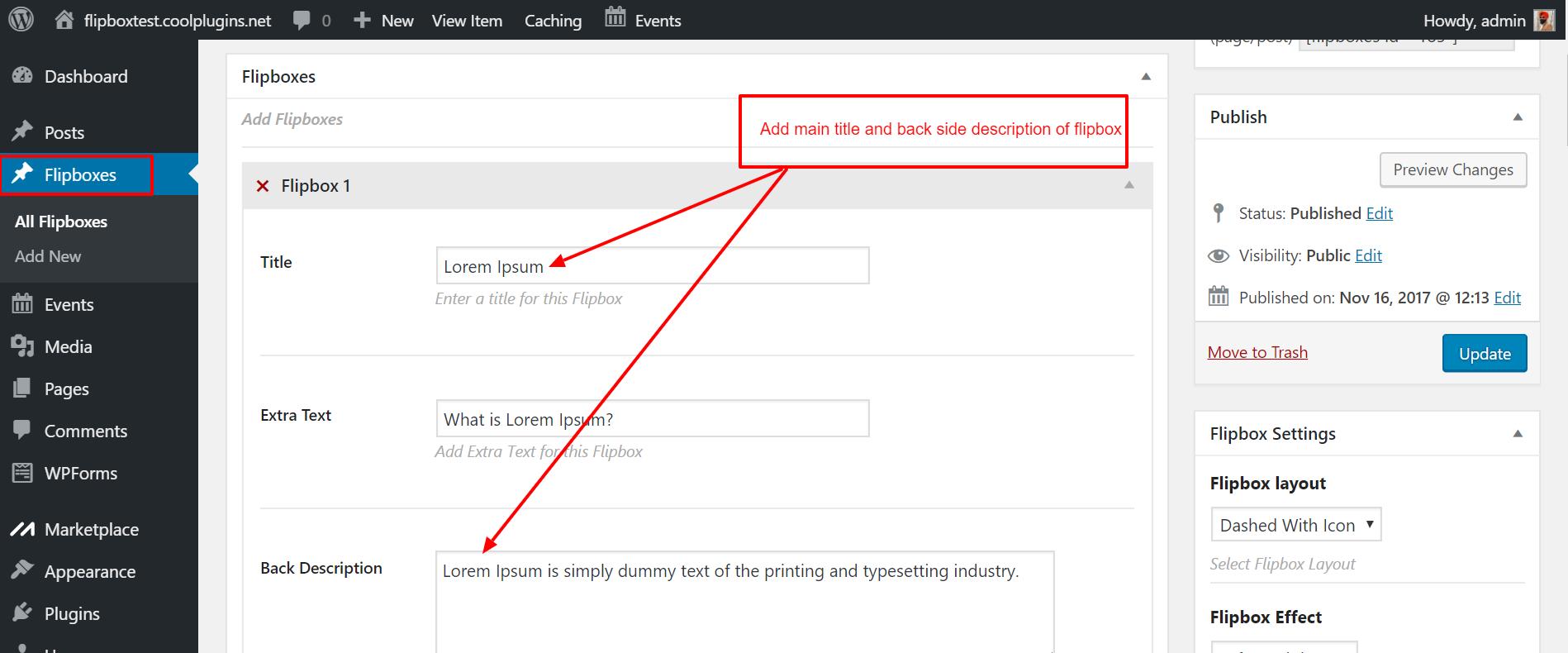 Flip Boxes – Ultimate Flipbox Styles – WordPress plugin | WordPress org