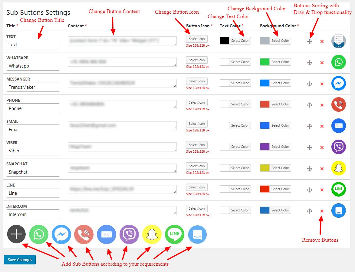 screenshot-4.png - Sub Buttons Settings