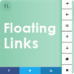 Floating Social Share Icons and Social Share buttons – Next Previous Post Links – FL