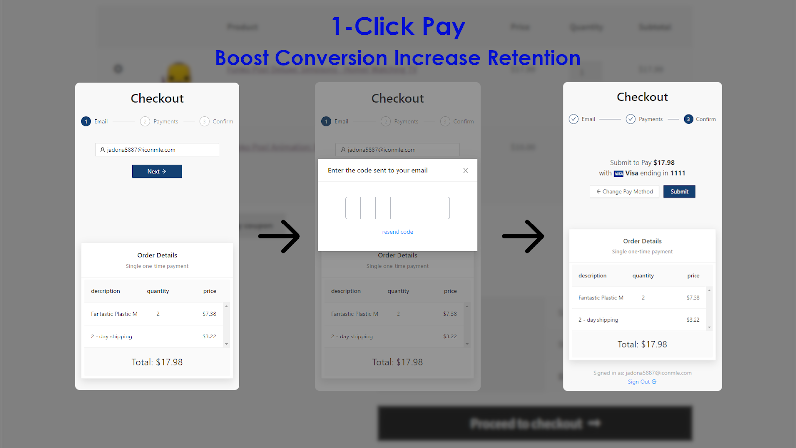 1-Click Pay.