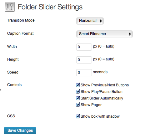 folder-slider screenshot 1