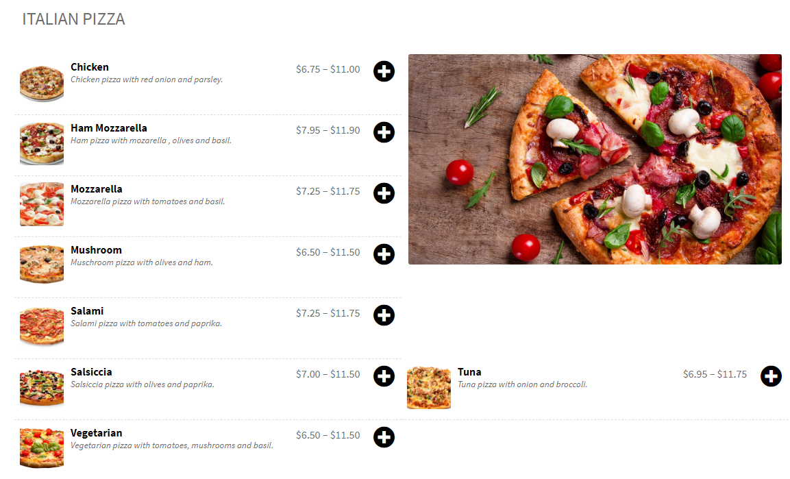 Captura Food Online For woocommerce