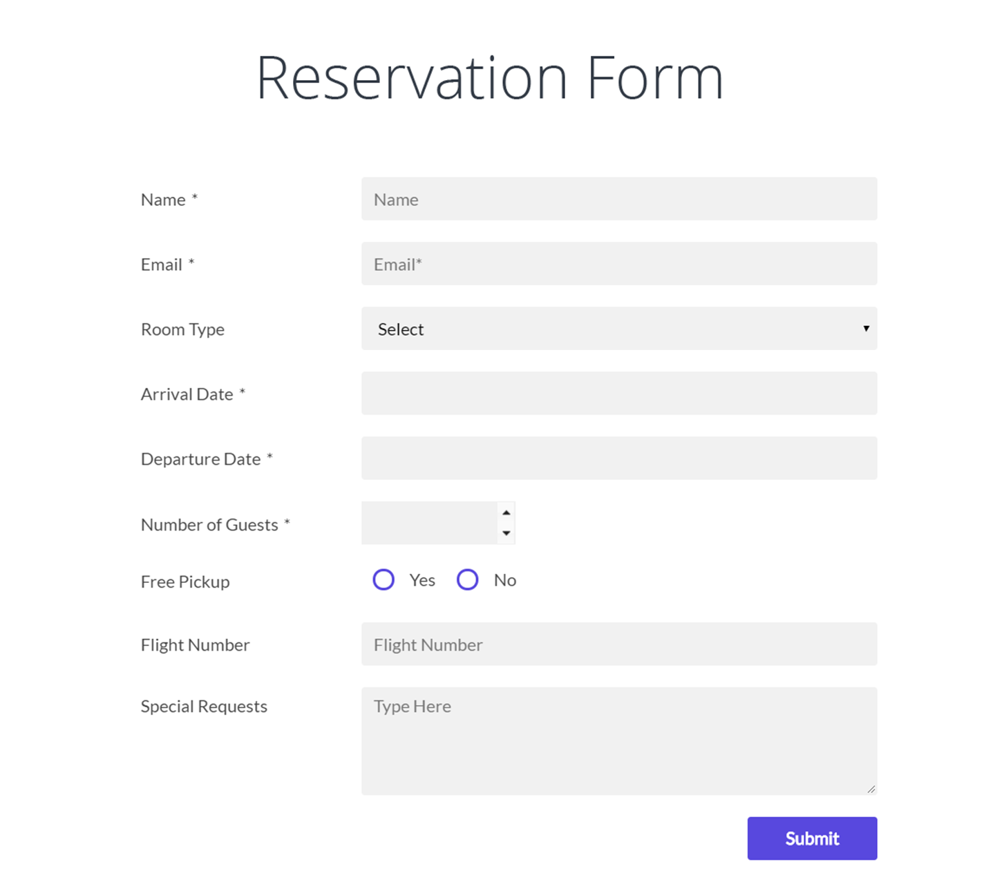 Form Maker by WD userfriendly drag and drop Form Builder plugin – New Customer Registration Form Template
