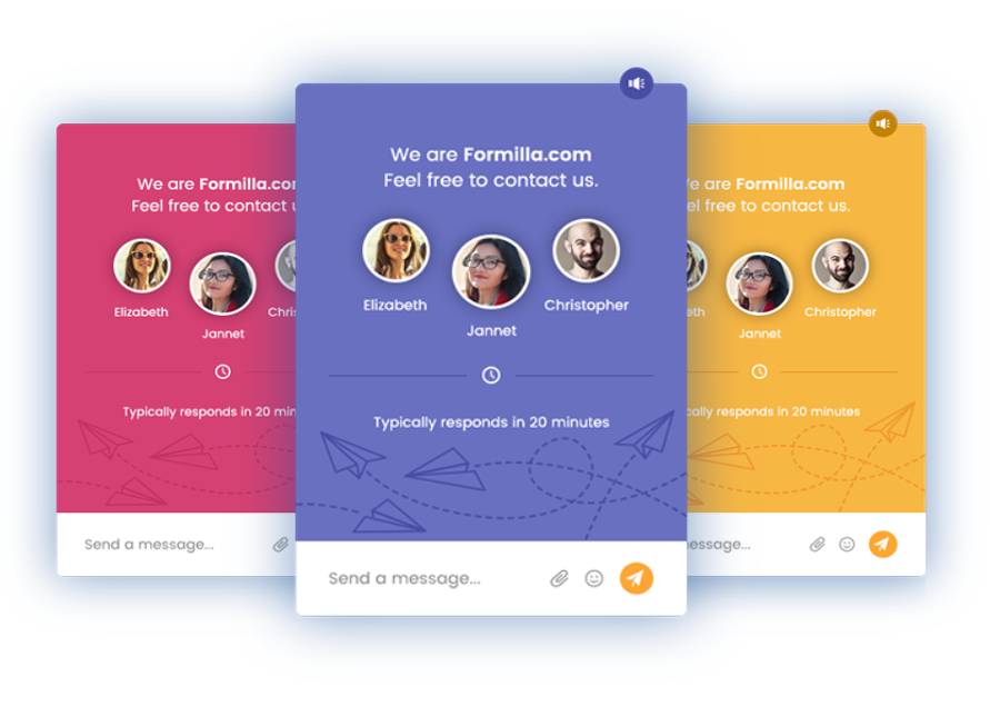 Formilla Live Chat