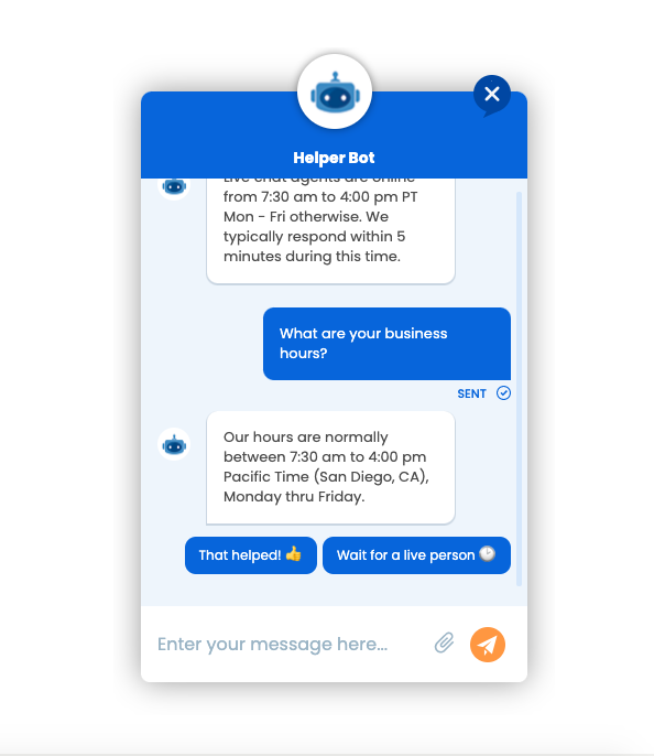 formilla-live-chat screenshot 4