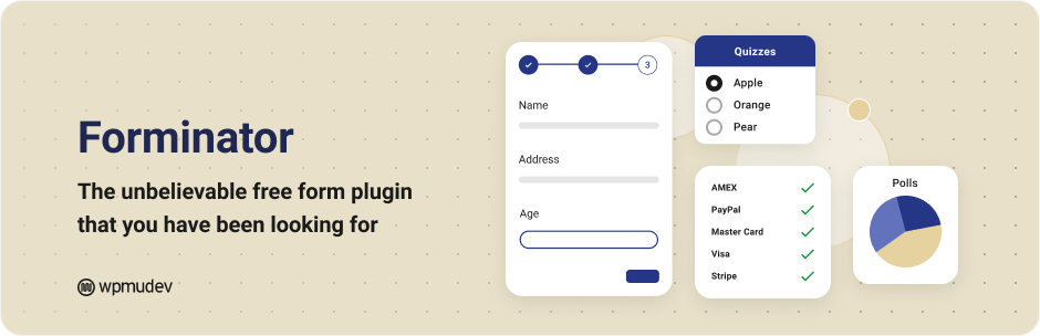 Forminator – Contact Form, Payment Form & Custom Form Builder