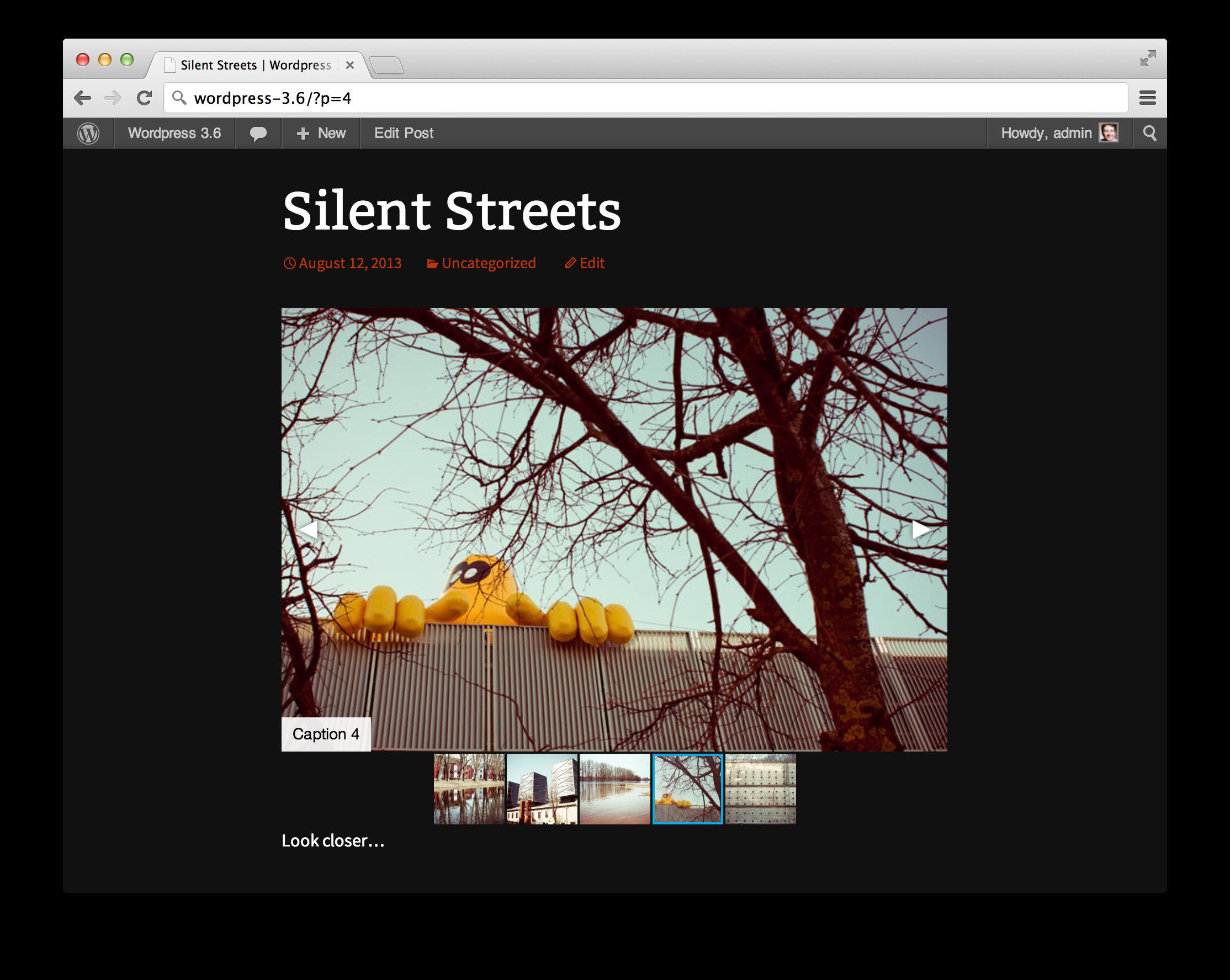 Fotorama WordPress Plugins