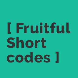 Wordpress Shortcodes Plugin by Fruitfulcode