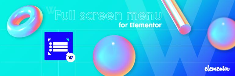 Full Screen Menu For Elementor Addons