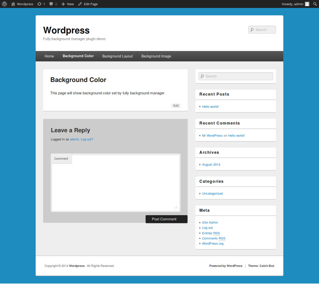 full background manager u2014 wordpress plugins