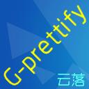 G-prettify logo