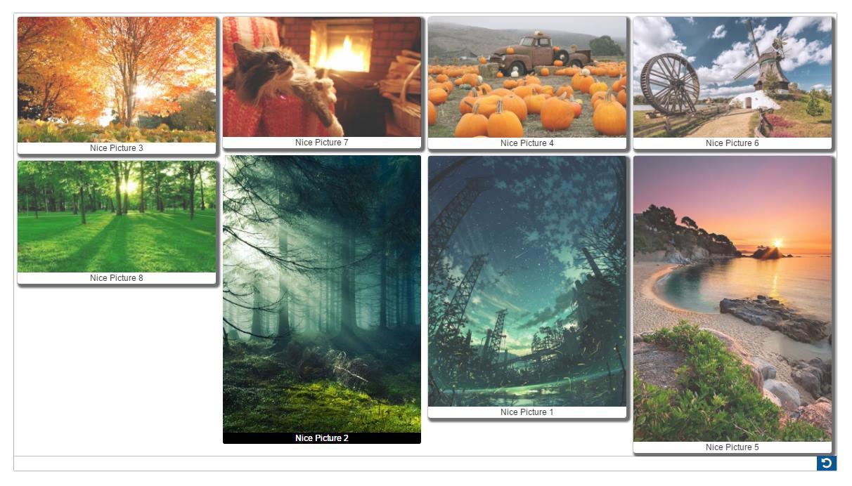 Fotokader Verschillende Fotos.Responsive Image Gallery Gallery Album Wordpress Plugin