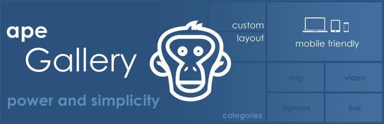 Photo Gallery – Image Gallery by Ape – WordPress plugin