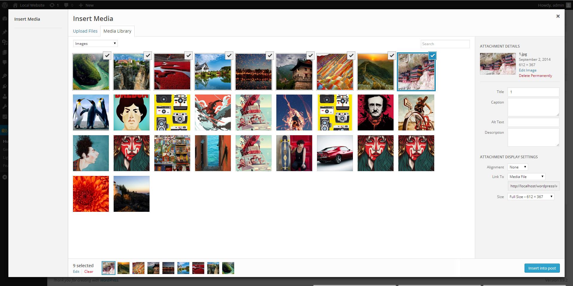 "<a href=""https://wordpress.org/plugins/gallery-images/"">WordPress Image Gallery</a> - Image Gallery uploader"