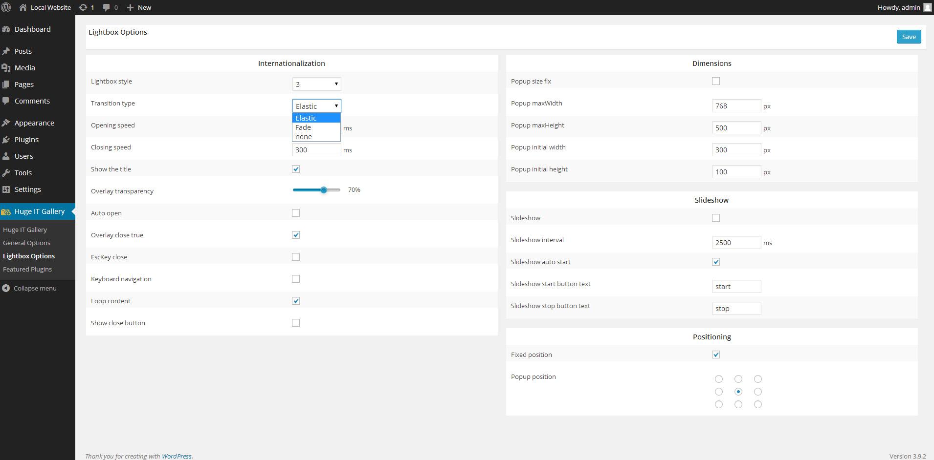 "<a href=""https://wordpress.org/plugins/gallery-images/"">WordPress Image Gallery</a> - Image Gallery Lightbox options"