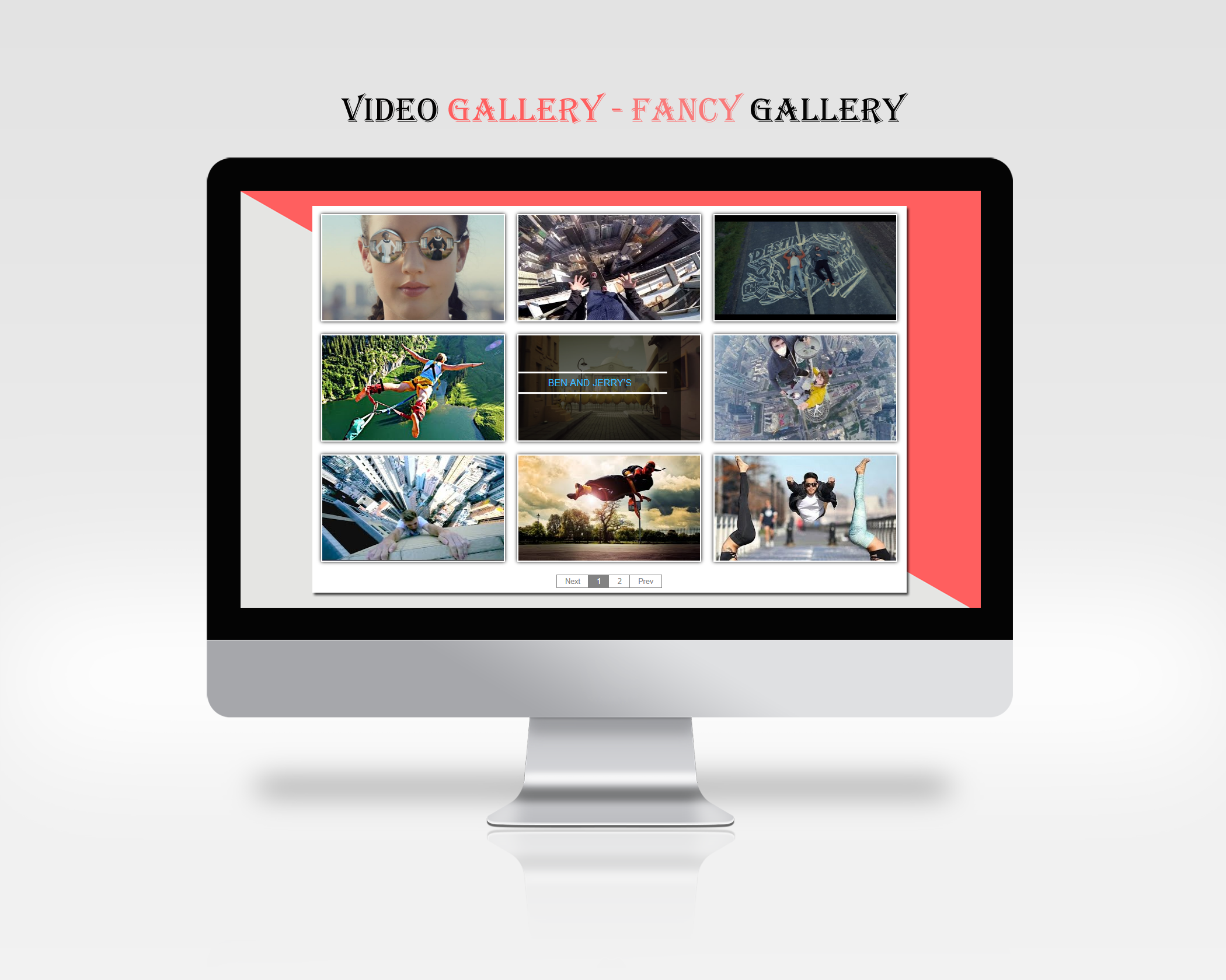 An example of plugin in action - Fancy Gallery