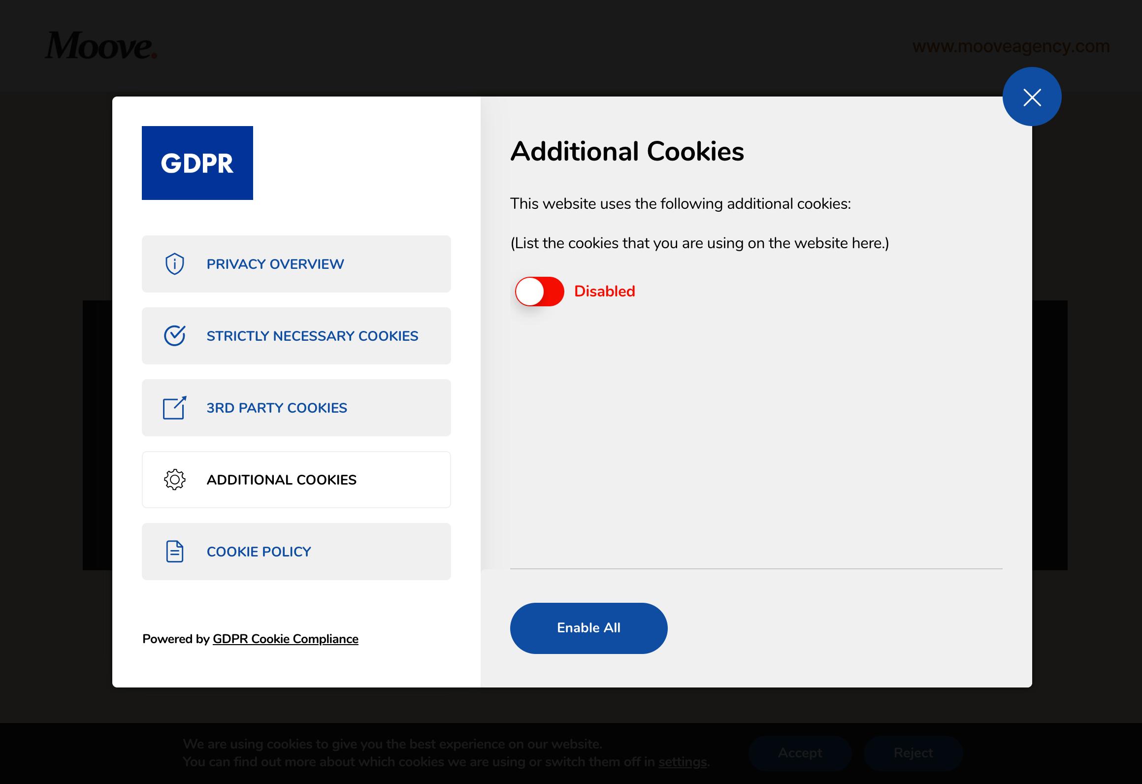 GDPR Cookie Compliance – WordPress plugin | WordPress org