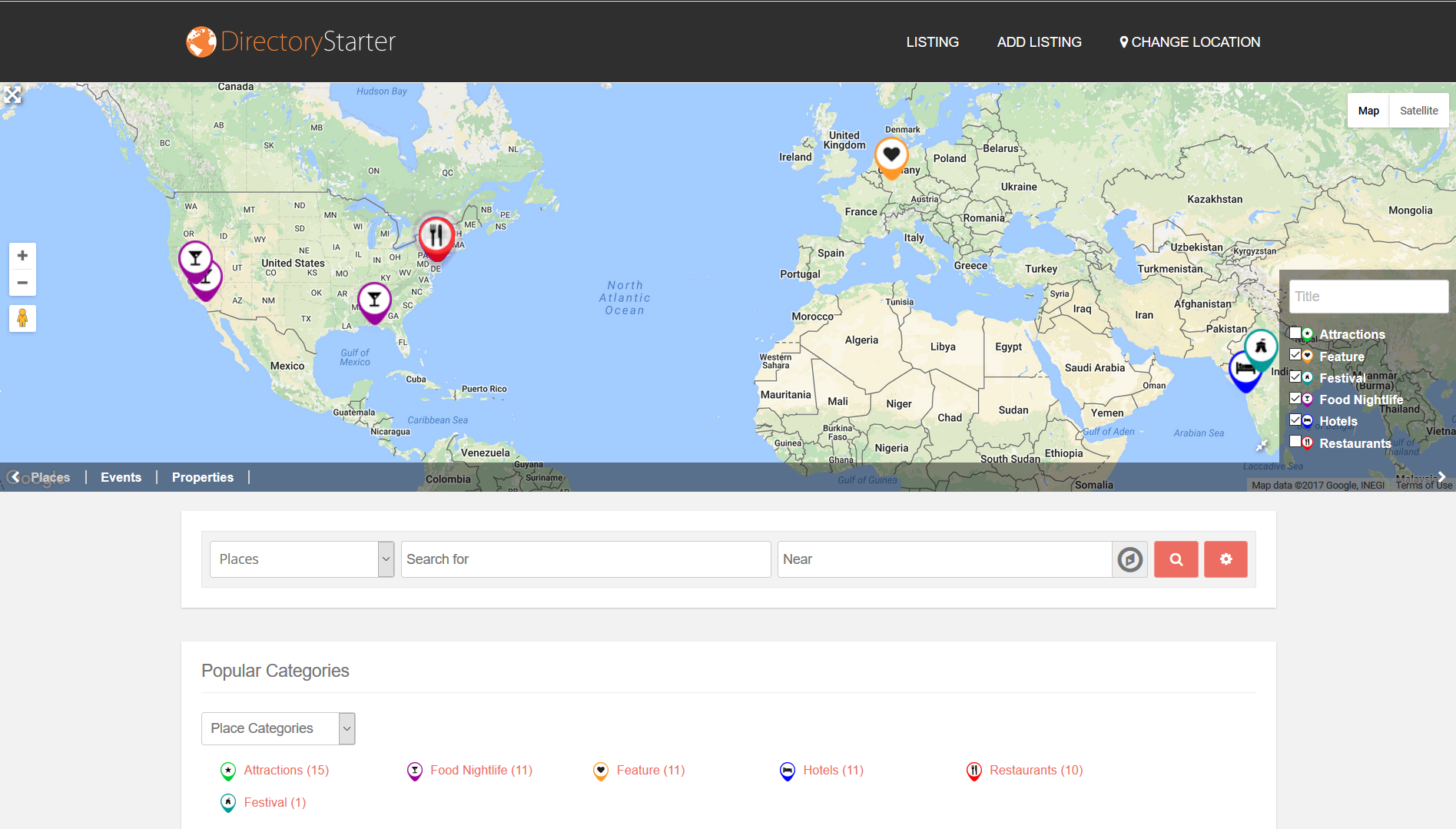 GeoDirectory WordPress directory plugin