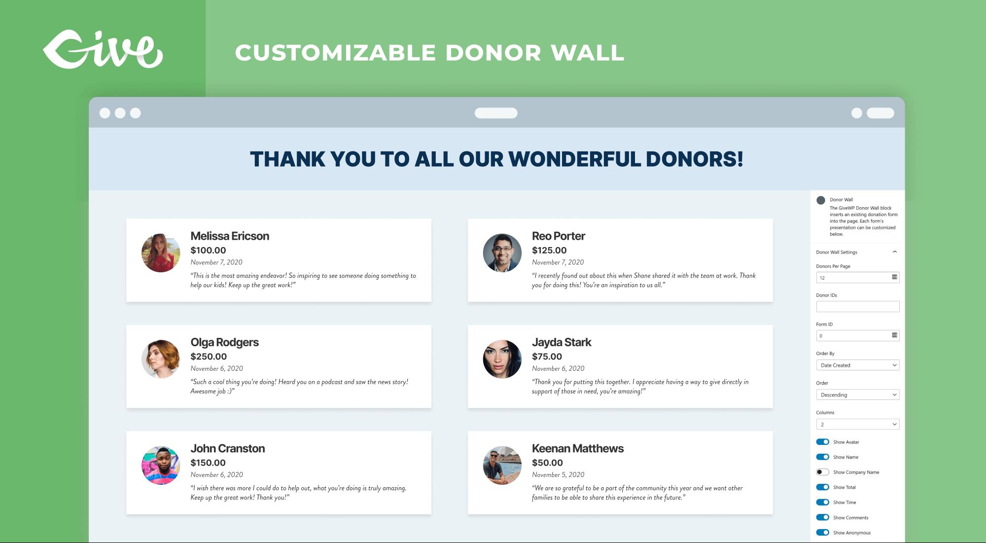 Give – Extension de don et plateforme de financement – Extension WordPress  | WordPress.org Français