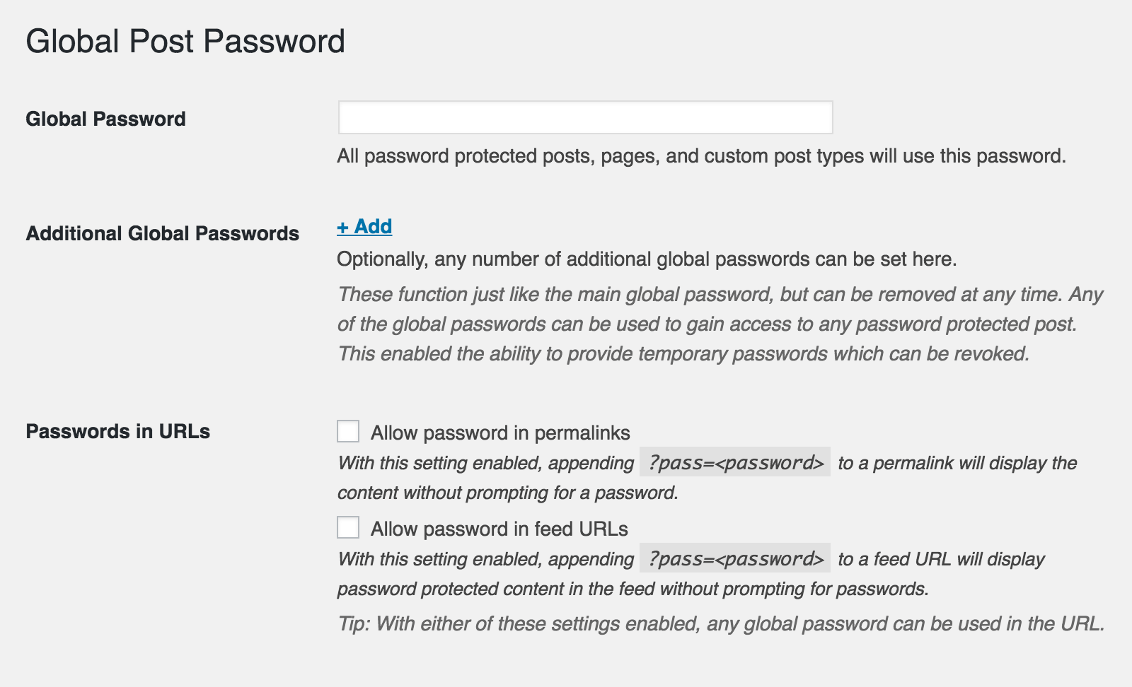 global-post-password screenshot 2