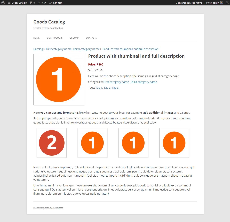 Goods Catalog WordPress Plugins. Home Good Catalogs   HaynetCreative com