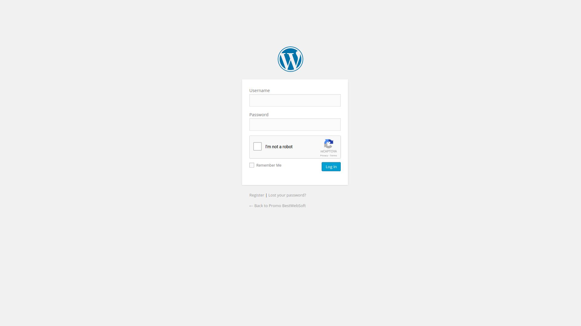 Google Captcha (reCAPTCHA) by BestWebSoft – WordPress plugin