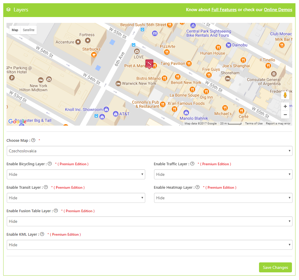 Google Maps Bank: WP Google Maps Plugin – WordPress plugin