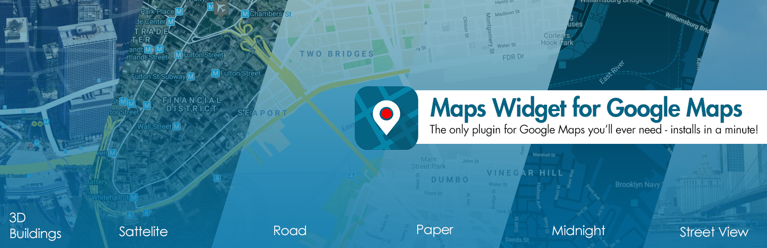 Maps Widget for Google Maps – Google Maps Builder