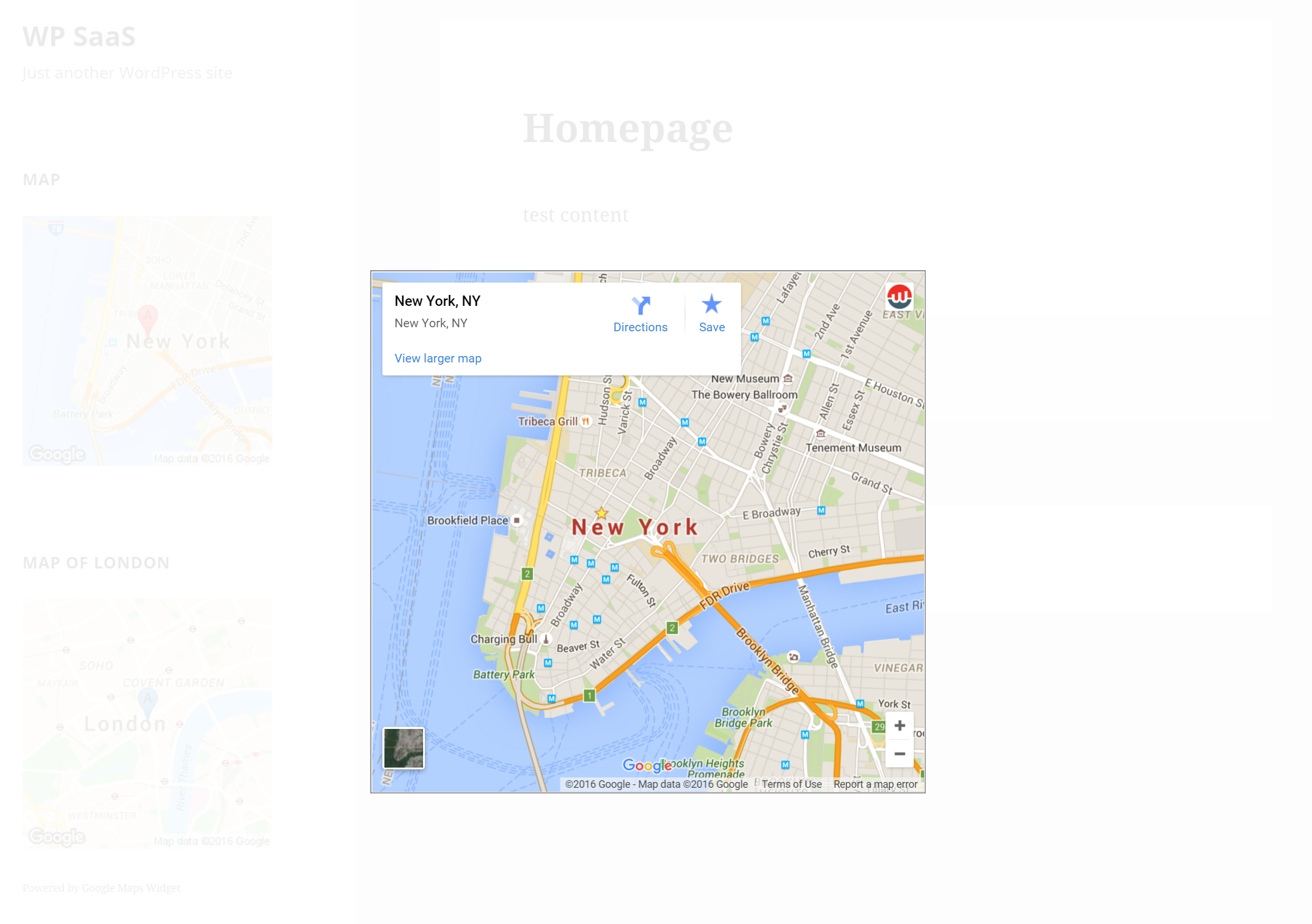 Google Maps Widget Ultimate Google Maps Plugin WordPressorg - Google maps to and from