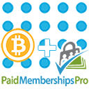 GoUrl Paid Memberships Pro – Bitcoin Payment Gateway Addon logo