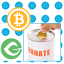 GoUrl Bitcoin Paypal Donations – Give Addon logo