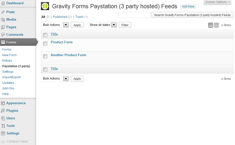 gravity-forms-paystation-3-party-hosted screenshot 3